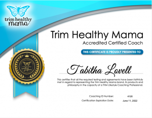 Tabitha Lovell THM certificate 2021-2022